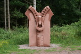 Symposium de sculptures suite - En forêt de Lutzelhouse