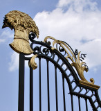Gate at Dumbarton Oaks