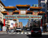 Chinatown gate refurbished