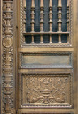 Old bank door