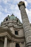 Karlskirche, detail