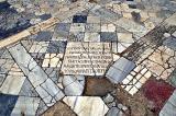 Salamis, marble floor