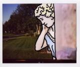 Cartoon Cemetery  Polaroids Montreal