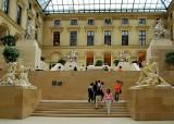 Louvre Richelieu Courtyard