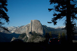 Half-Dome in various light