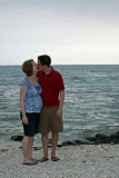 steff and eric beach kiss.jpg