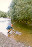 Ted on the Quilcene 1990