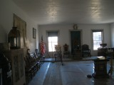 in the Masonic Temple (upstairs)