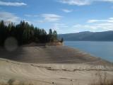 Palisades Reservoir shoreline