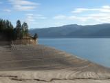 Palisades Reservoir shoreline 2