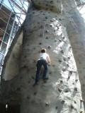 Bernadette going up