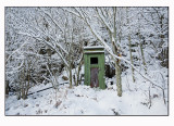 A rather chilly toilet