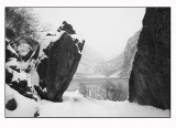 A snowy trip 9  (leaning rocks)