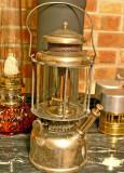 1926 Coleman Model #427 Lantern ( Built-On External Pump )