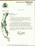 Letter  From Larry Cash ,,, President Of PCTC