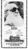 Glacier Glasses Ad,,, Mid 1970's,,, Cool Glasses, And Beard!!