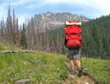 Hiking The  Gordon Stuart  Trail ,, Entiat River To Dompke Lake