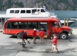 One Of  Four  New Buses IN Stehekin