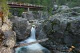 Lovely Bridge Creek Bridge And Falls