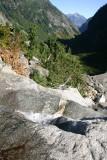 Looking Back Toward Stehekin Valley From Trail