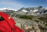 Mountain Views On Sahale Arm WIth OLd Kelty Serac