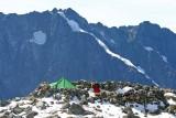 Sahale Camp And Views