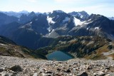 View Of  Doubful Lake  From Sahale Camp