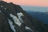 Cascade Peak And It's Glaciers