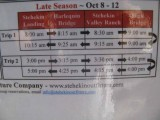 Late Season Times