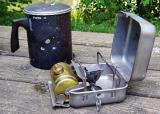 Optimus  8R Backpacking Stove ( 8th new paint job from hard use!)