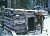 Yon Dodge Cabin  ( Near Hopkins Pass, PCT) 1977