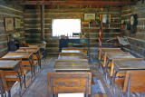 School Class Room, 1880's from Brender Canyon ( Cashmere Washington)