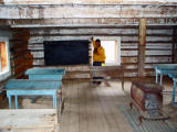 Old School House In Fort Selkirk