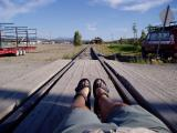 Waiting for the train 9Narrow Gage , Whitehorse)