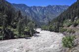 Tumwater Canyon with Swollen Weantchee River
