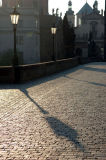 Charles Bridge shadow