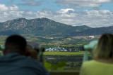 North Korea viewed from Dorasan Tower