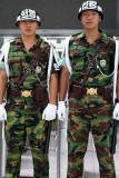 ROK soldiers at Dorasan station