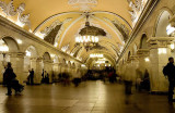 Early morning, Komsomolskaya Metro Station