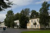 Eighteenth-century streetscape of Novgorod the Great