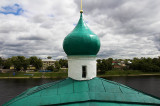From the belltower of Mirozhsky Monastery