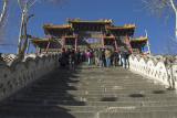 Xiantong Temple stairs, Wutai Shan