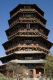 900-year old Wooden Pagoda, Yingxian