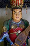 Temple guardian at the Wooden Pagoda, Yingxian