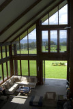 The lounge at Spicers Peak Lodge