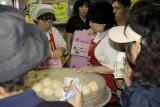 Dumplings for sale, Namdaemun, Seoul