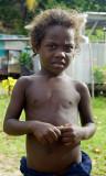 Village boy on Ghizo