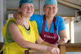 Mother & daughter cooks, Russian Far East
