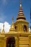 Golden spires of Wat Klang