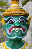 Guardian at Wat Mae Yen